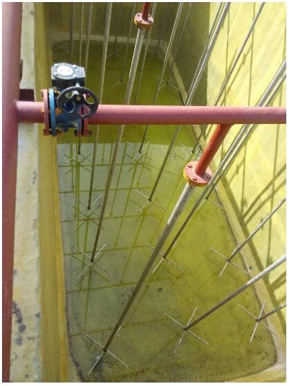 污水處理防腐曝氣池